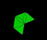 Piramide olografica nativi digitali for Carta specchio adesiva